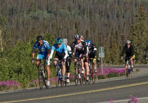 Cycling in Southeast Alaska