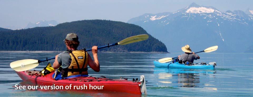 Kayaking in Southeast Alaska