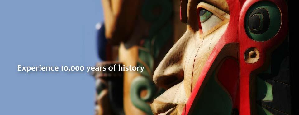 Totem in Southeast Alaksa