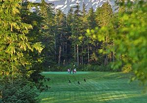 Wrangell AK golfing